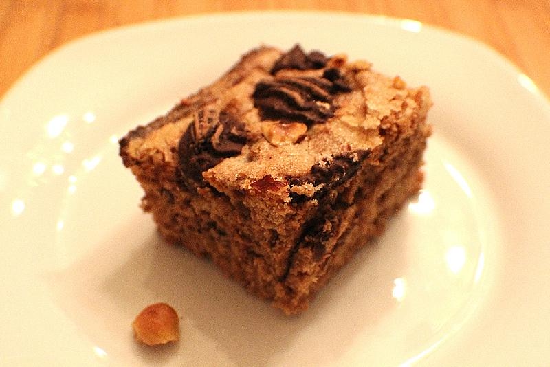 Gâteau aux dattes et chocolat