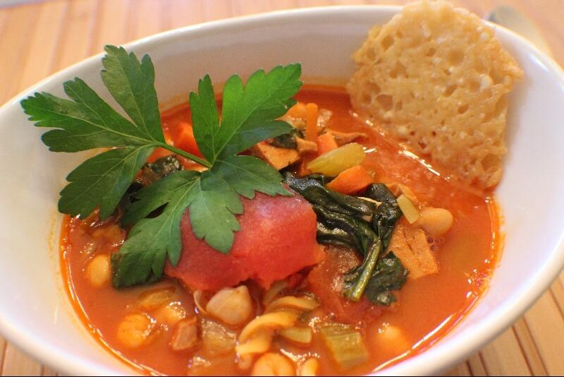 Soupe repas à l'italienne
