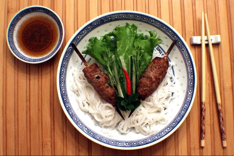 Brochettes de porc vietnamiennes