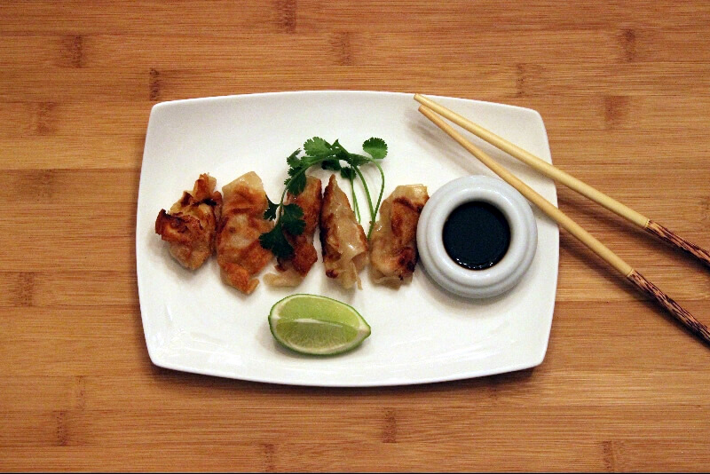 Dumplings aux crevettes Xia jiao