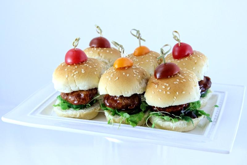 Mini hamburger à la chinoise