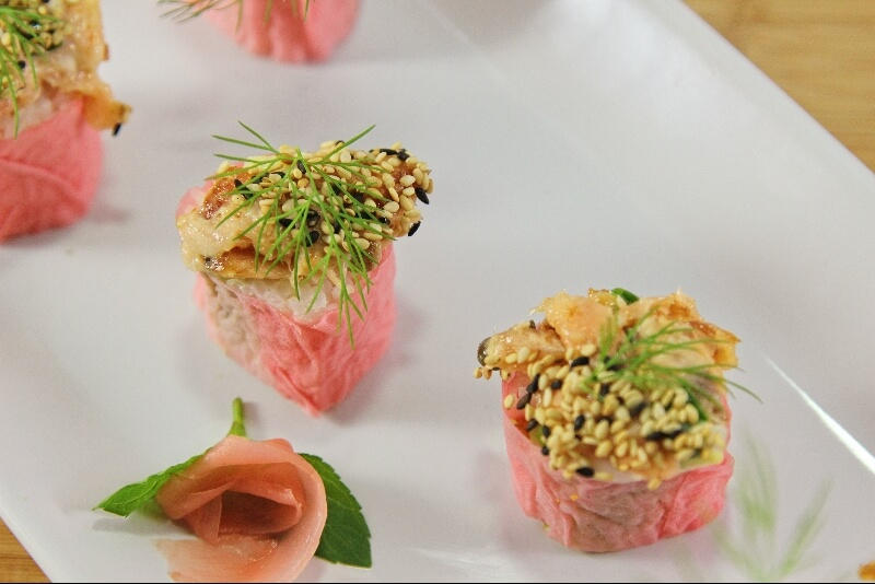 Sushis 3 façons