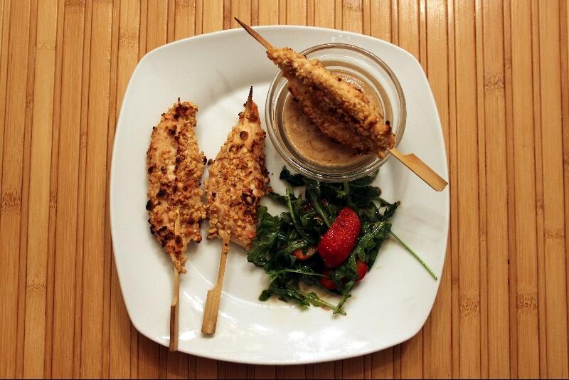 Brochettes de poulet a l'arachide 1 | Recettes Gourmandes