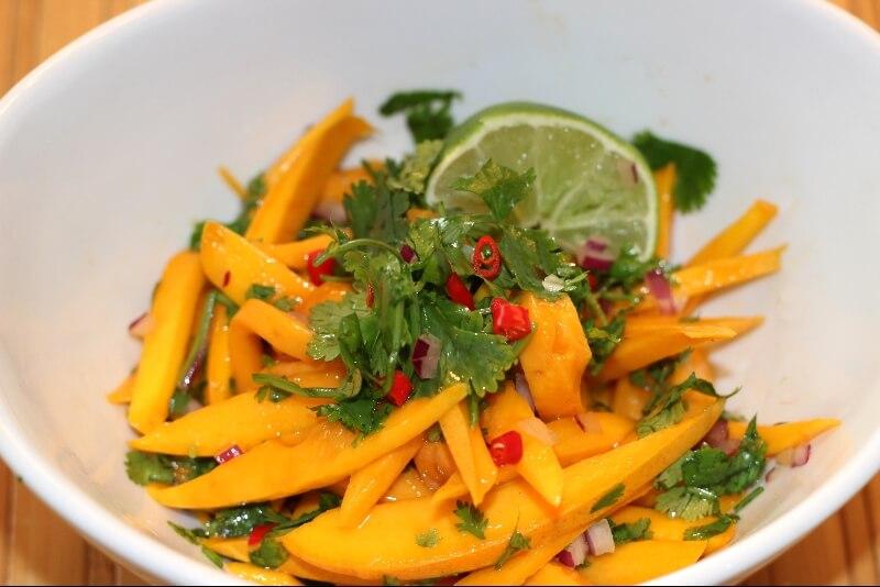 salade de mangue asiatique recettes gourmandes. Black Bedroom Furniture Sets. Home Design Ideas