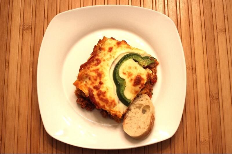 Lasagne a la saucisse italienne 1 | Recettes Gourmandes