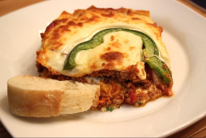 Lasagne a la saucisse italienne 3 | Recettes Gourmandes