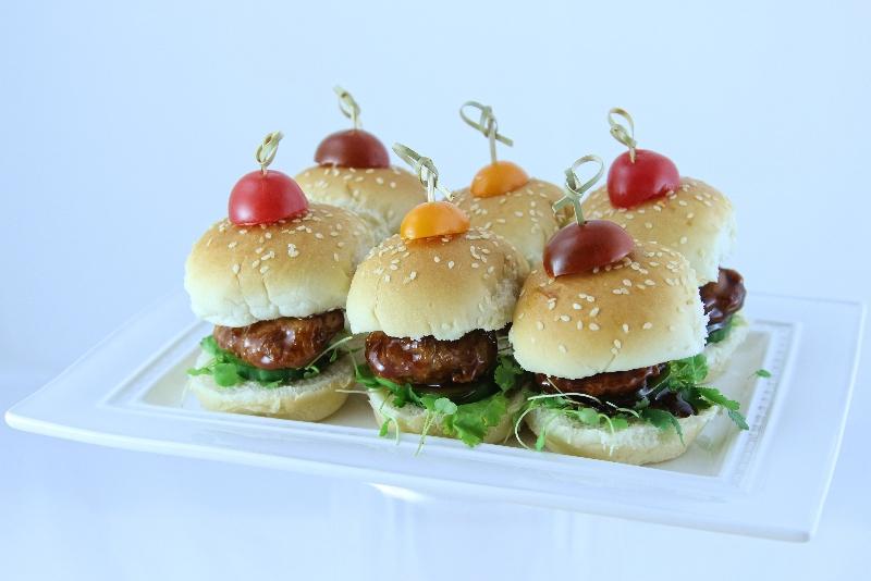 mini hamburger a la chinoise