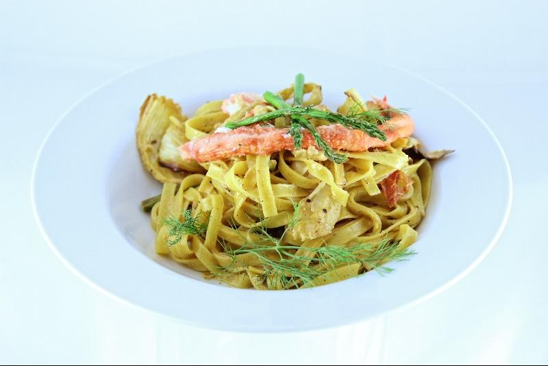 Fettuccine au crabe et asperges 1 | Recettes Gourmandes
