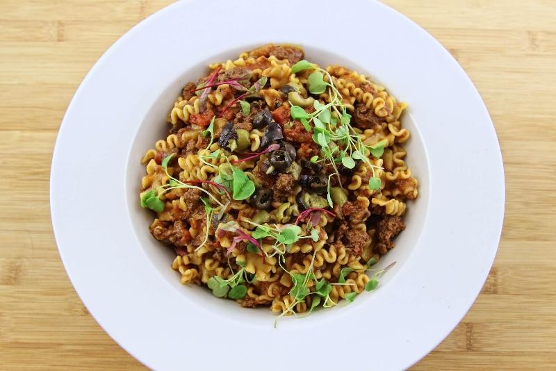 Lasagnetta, sauce a la viande et courgettes 3 | Recettes Gourmandes