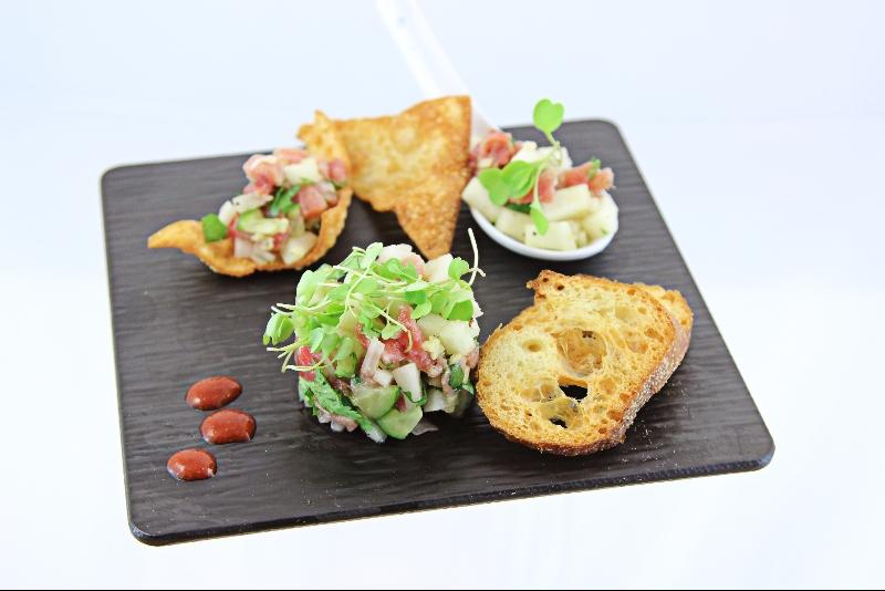 Tartare de thon aux poires 2 | Recettes Gourmandes