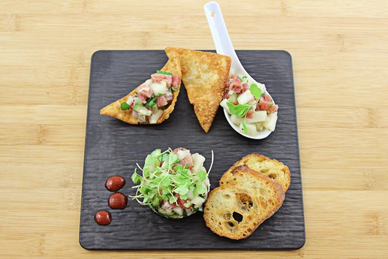 Tartare de thon aux poires 3 | Recettes Gourmandes
