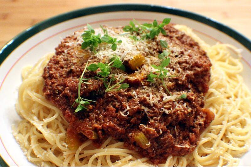 Sauce à spaghetti de sœur Maria