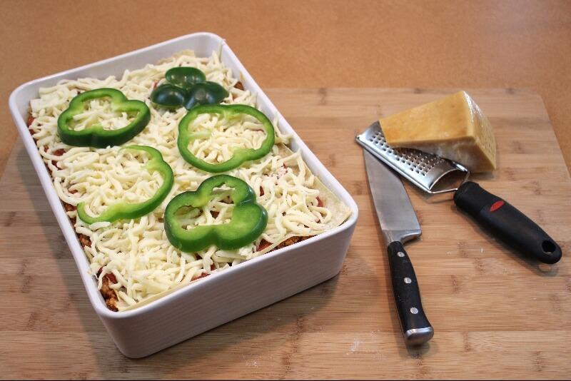 Lasagne à la saucisse italienne