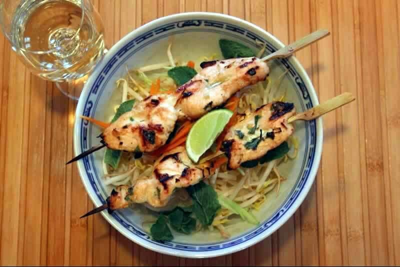 Brochette de poulet vietnamienne
