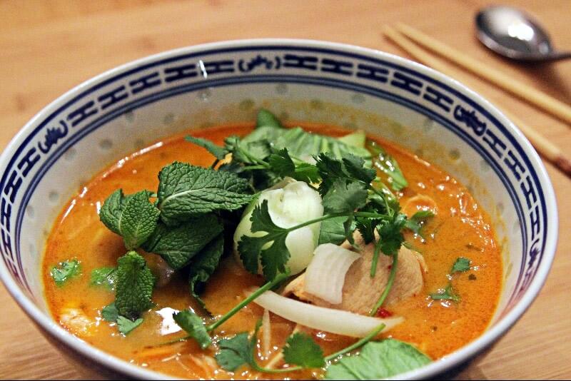 Soupe Tom Yum Gung
