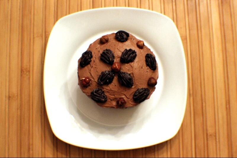 Gâteau aux avelines