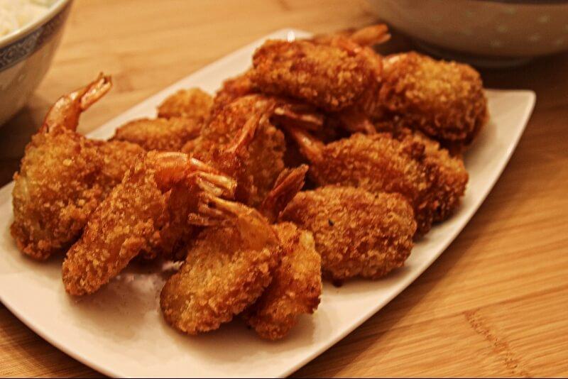 Crevettes croustillantes épicées